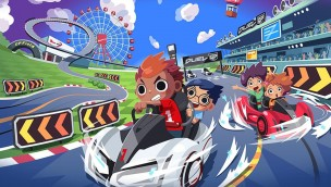 Suzuki Circuit Duel GP Artwork