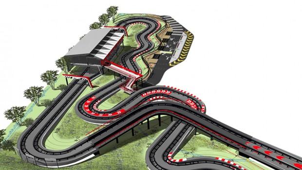 Suzuki Duel GP Strecke Rendering