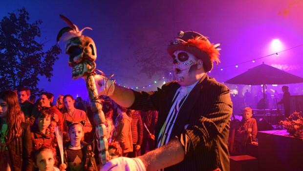 Darsteller Fiesta de Los Muertos im Toverland