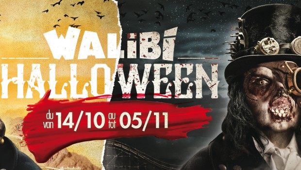 Walibi Belgium Halloween 2017 Key Artwork