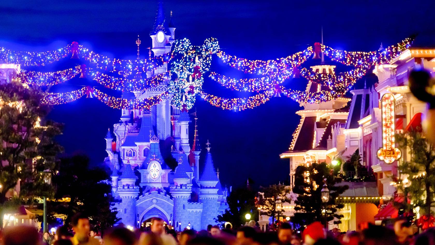 Disneyland Paris Im Winter 2017 Weihnachtszeit Erstmals