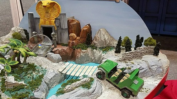 Dynamic Attractions All-Terrain Dark Ride Temple of the Forbidden Snake Modell