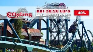Efteling 2018 zum Sparpreis: Eintrittskarte nur 28,50 Euro inkl. Parkplatz mit Rabatt-Angebot