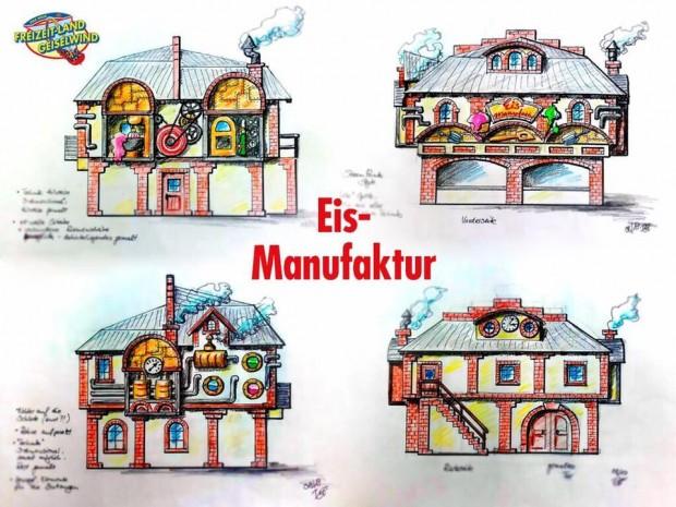 Eis-Manufaktur Freizeit-Land Geiselwind Artwork