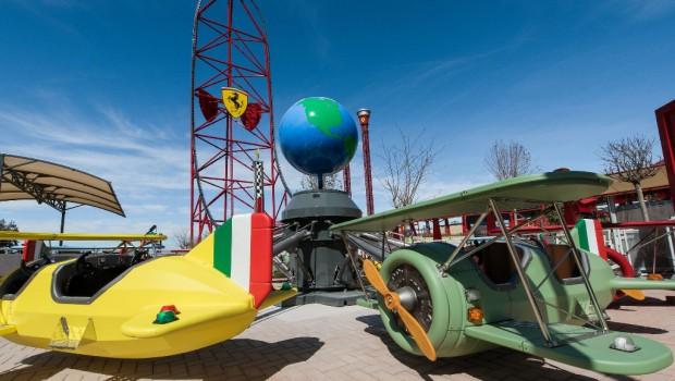 Ferrari Land PortAventura Kinderkarussell