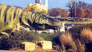 Dinosaurier-Modell Field Station Dinosaur Kansas