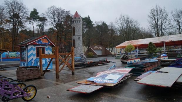Freizeit-Land Geiselwind 2018 Umgestaltung Parkmitte