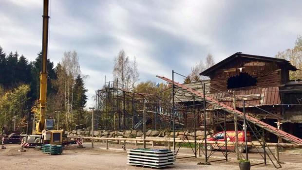 Freizeitpark Plohn Silver Mine Abbau