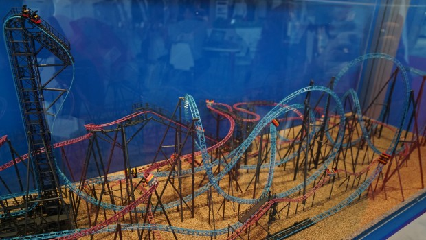 Gerstlauer Launched Euro-Fighter Free Spinning Coaster Modell