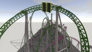 Gerstlauer Nickelodeon Universe Coasters Concept