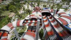 """Noah's Ark kündigt """"Raja"""" an: Weltweit größte King Cobra-Rutsche als Neuheit 2018"""
