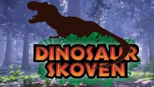 Knuthenborg Safaripark 2018 Dinosaurier-Bereich Artwork
