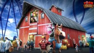 Bayern-Park 2018 mit Weltneuheit und mehr neuen Attraktionen zum Thema Bauernhof