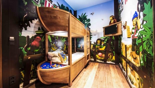 LEGOLAND Deutschland Piraten-Hotel Kinderzimmer
