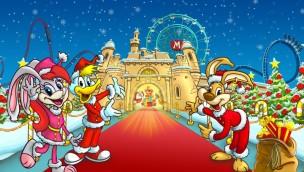 """Mirabilandia öffnet 2017 erstmals auch im Winter: Das wird die neue """"Christmas Time"""""""