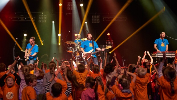 Pelemele Kinder-Rockband Konzert