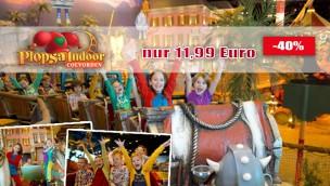 Plopsa Coevorden Rabatt-Angebot: 35% beim Indoor-Freizeitpark sparen!