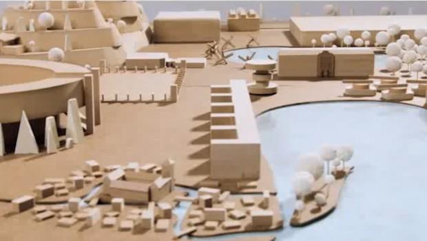 Reichspark Königsberg Modell