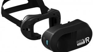 VR Coaster und Sensics stellen RideVR™ vor: Fortschrittliches VR-Headset für Virtual-Reality-Attraktionen