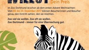 """Zoo Dortmund: Schlechte Bilanz für """"Zoo wie du willst""""-Aktion 2017"""