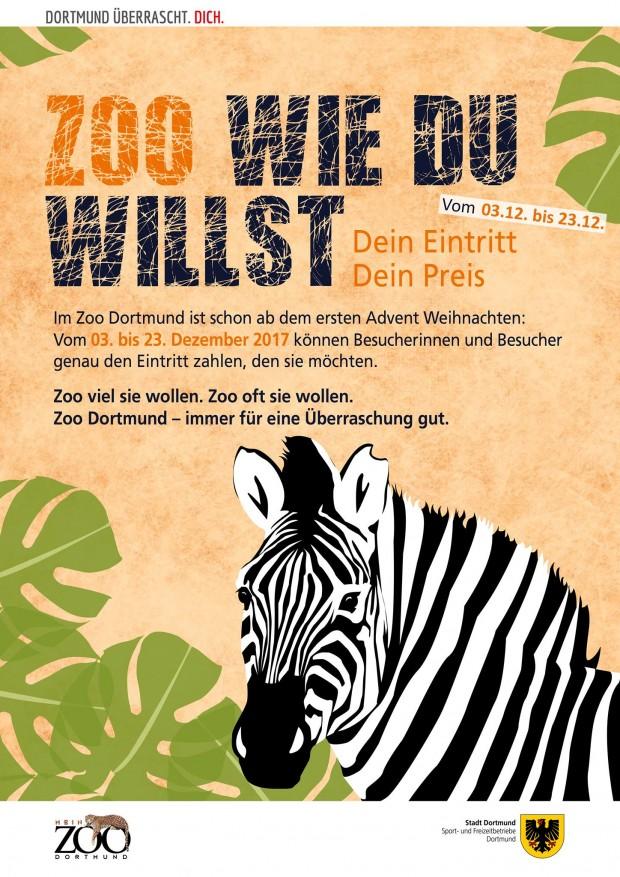 Zoo Dortmund Eintrittspreis selbst bestimmen 2017