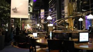 Achterbahn-Restaurant Hamburg von Innen