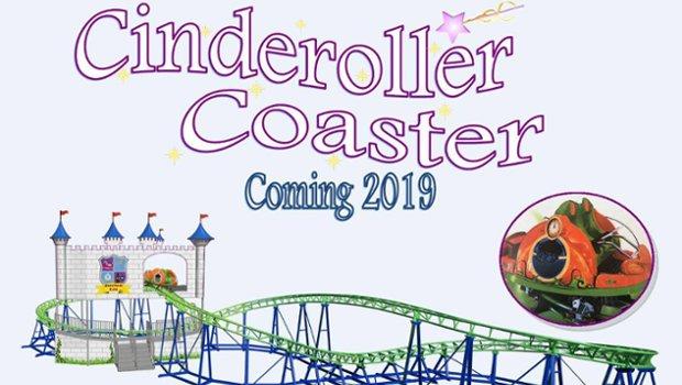 Cinderoller Coaster im Storybook Land
