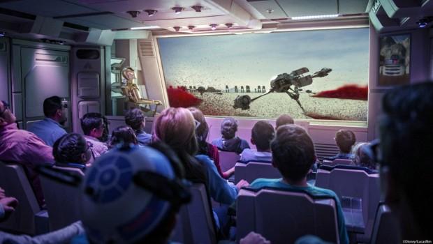 Disneyland paris Star Tours Crait
