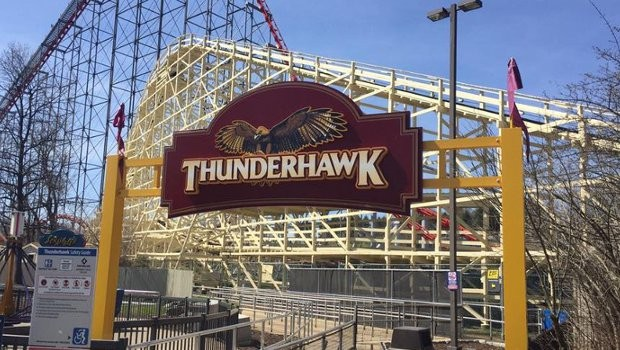 Thunderhawk in Dorney Park