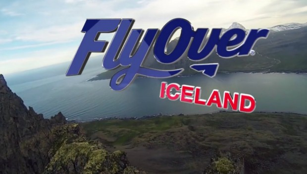 Fly over Iceland Flying Theatre