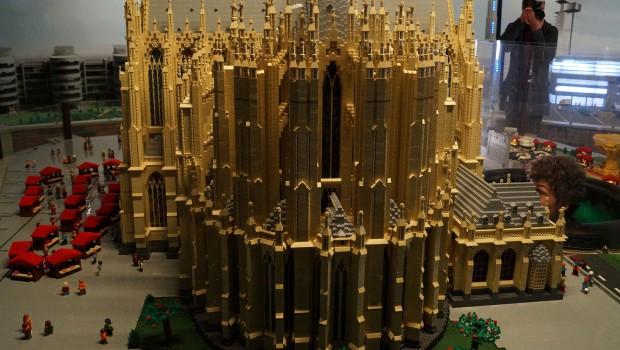 Koelner Dom aus LEGO - Flügel