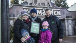 Kolmarden Winter-Saison Besucherrekord