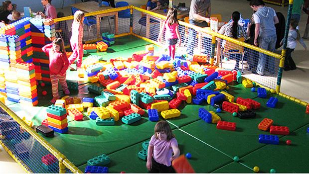 Monkey Town in Dortmund: Lego-Ecke