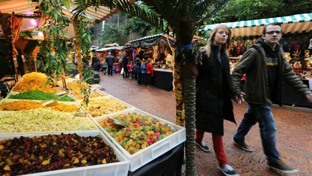 Pasar Malam - Burgers' Zoo Weihnachtsmarktstand