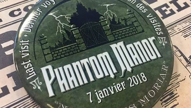 Phantom Manor Pin Disneyland Paris