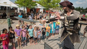 Piraten-Show - BELANTIS mit Kinder