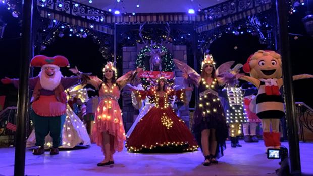 Plopsa feiert Weihnachten 2017