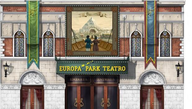 Rulantica Fassade Teatro dell'Arte Europa-Park