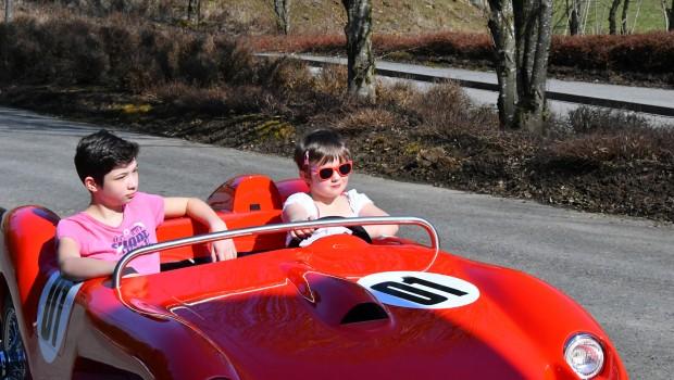Schwaben-Park Kinder-Autofahrt zum Selbstlenken
