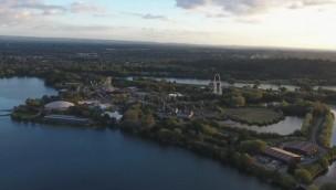 Thorpe Park von oben