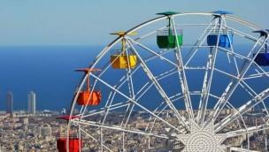 Barcelonas Freizeitpark meldet Besucher-Rekord: 2017 so viele Gäste wie nie in Tibidabo