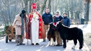 Tierpark Hellabrunn begrüßt Nikolaus am 6. Dezember 2017