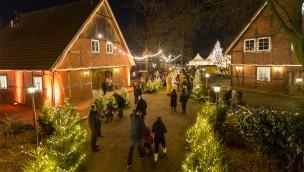 Weihnachtsmarkt der ZOOM Erlebniswelt