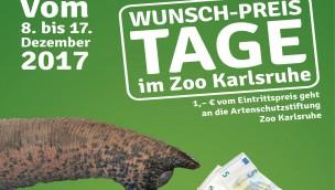 Wunsch-Preis-Tage 2017 im Zoo Karlsruhe: Besucher bestimmen Eintritt selbst