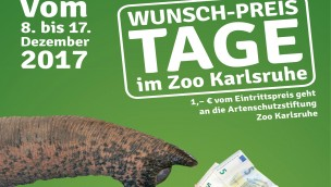 Wunsch-Preis-Tage 2017 im Zoo Karlsruhe