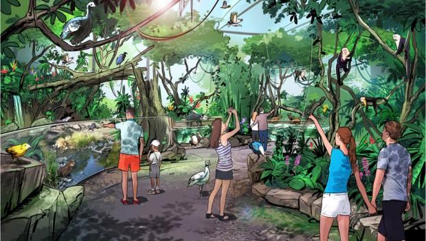 Pilotprojekt 1 von Allwetterzoo Münster: Südamerikanisches Pantanal