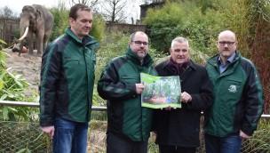 Allwetterzoo Münster stellt den Masterplan für 2030 vor