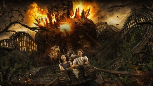 Alton Towers Wicker Man Key Visual
