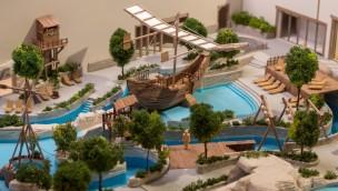Bellewaerde Aquapark Modell
