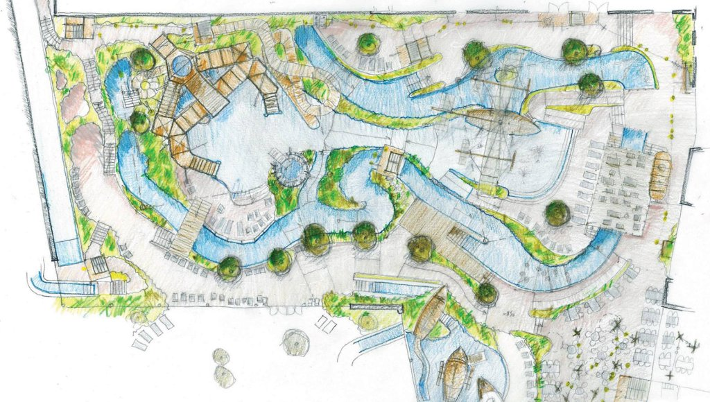 Bellewaerde Aquapark Plan